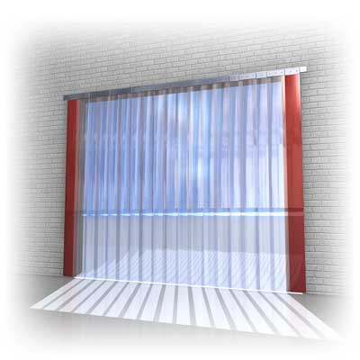 Air Curtains | PVC Strip Door Curtain | Fly Catchers | Tip N Tell